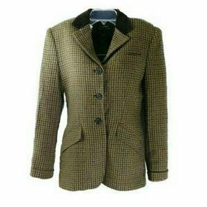 Vintage Ralph Lauren tweed equestrian jacket sz 4